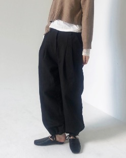 union string jogger pants(2color)