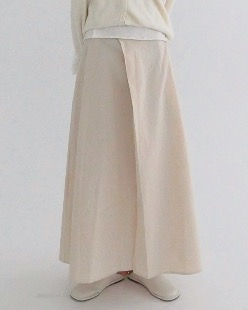 motion cotton skirt (2color)