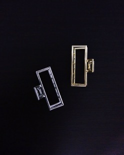 square hair pin (2color)