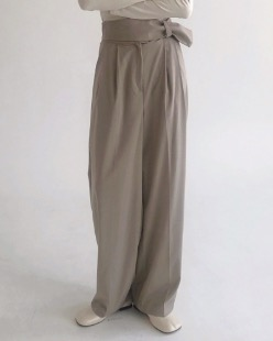 strap point pants (2color)