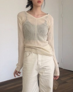 slim summer knit (4color)