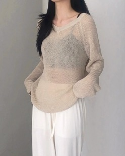 shine summer knit (2color)