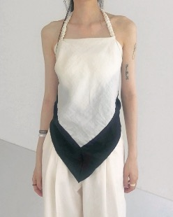 irodori scarf sleeveless (2color)