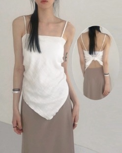 mori scarf sleeveless (2color)