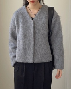 mohair wool jacket (2color)