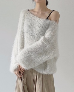bloom fur knit (2color)