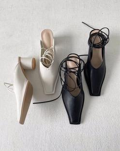 paris strap shoes (2color)