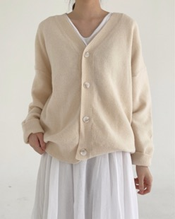 moment soft cardigan (4color)